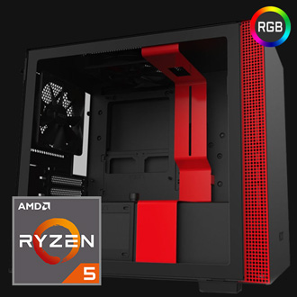 VIPER Mini Gaming PC mit AMD Ryzen™ CPU